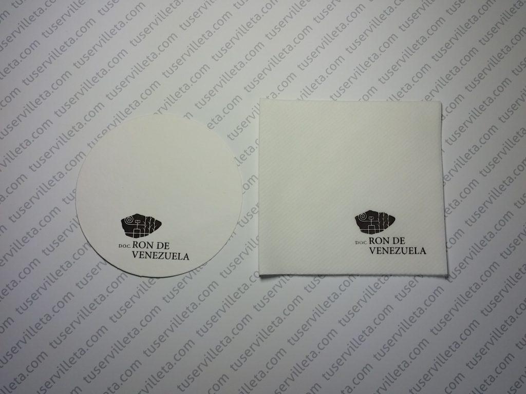 Servilletas Impresas Ron de Venezuela