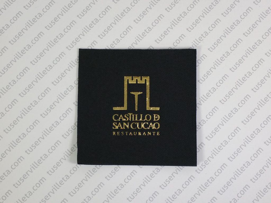 Servilletas Personalizadas Castillo de San Cucao
