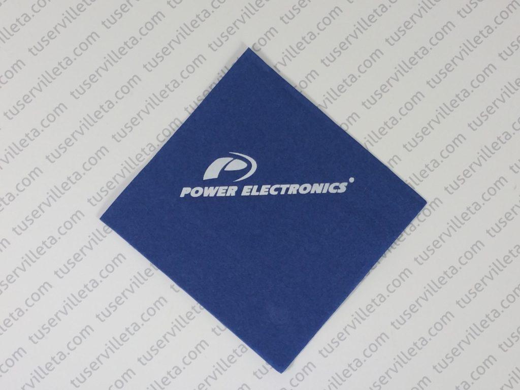 Servilletas Impresas Power Electronics