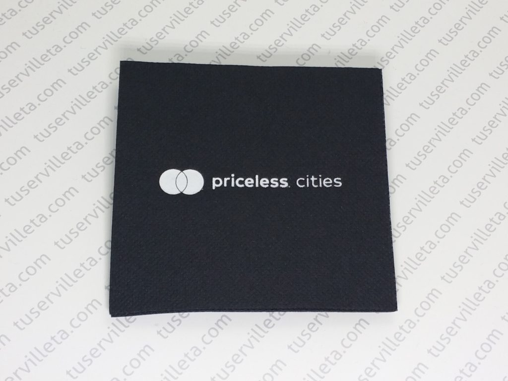 Servilletas Impresas Priceless Cities
