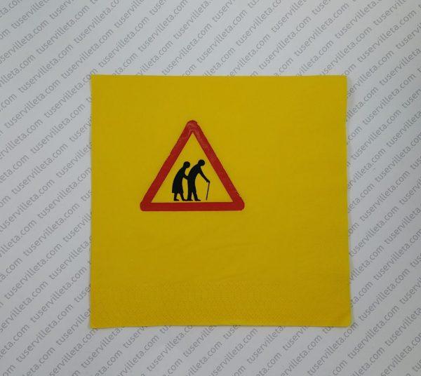 Serviettes Imprimées Panneau
